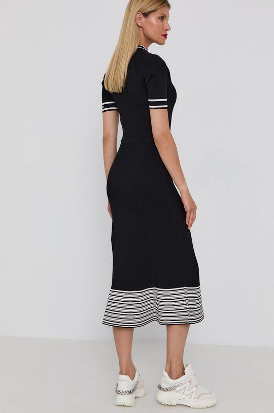 Karl Lagerfeld - Sukienka 17 % Poliester, 83 % Wiskoza