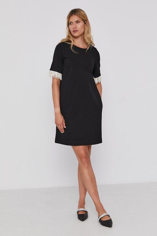 Twinset - Šaty čierna