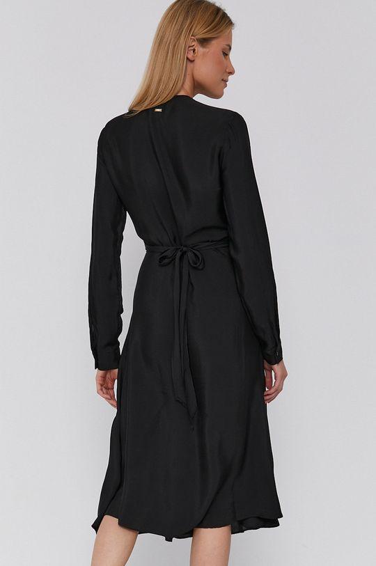Armani Exchange - Sukienka 100 % Wiskoza