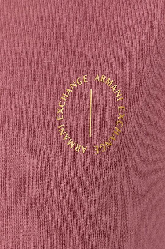 czerwony róż Armani Exchange - Sukienka