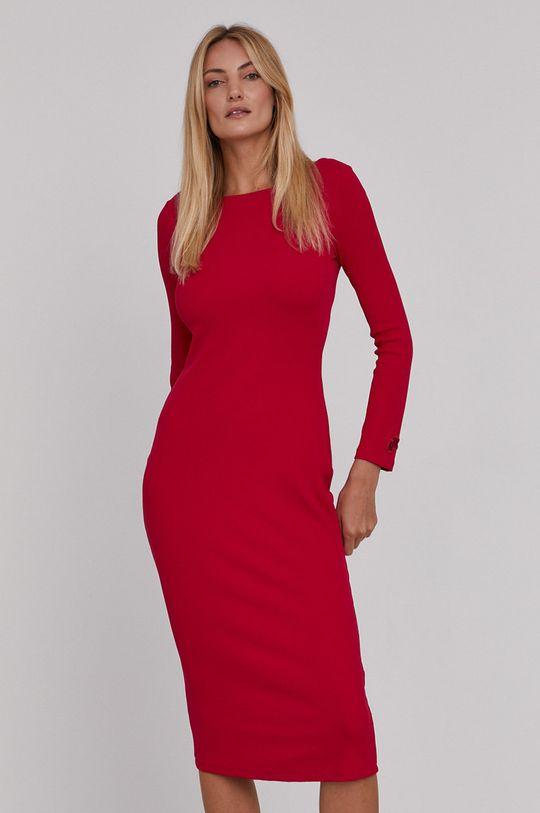 różowy Armani Exchange - Sukienka Damski