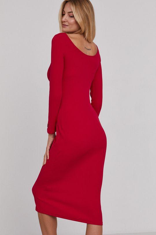 Armani Exchange - Sukienka 7 % Elastan, 93 % Poliamid