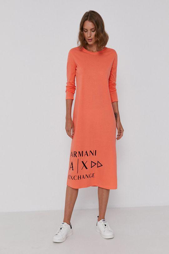 pomarańczowy Armani Exchange - Sukienka Damski