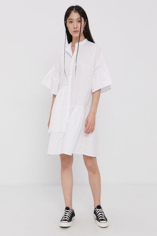 Pieces - Sukienka biały