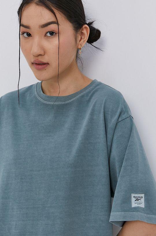 tlumená zelená Reebok Classic - Šaty