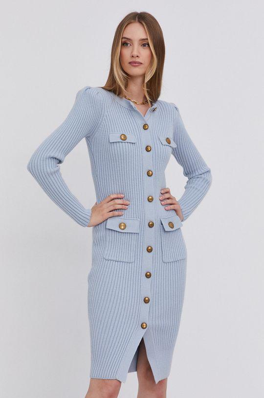 jasny niebieski Elisabetta Franchi - Sukienka Damski