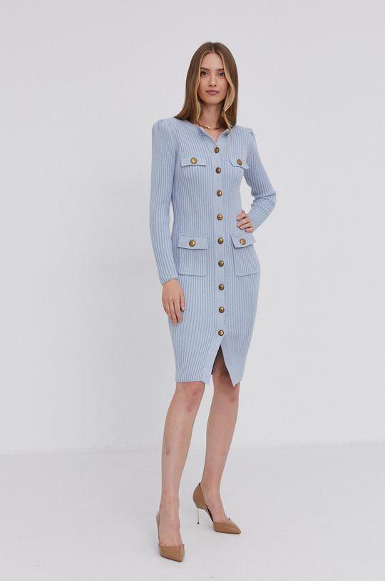 Elisabetta Franchi - Sukienka jasny niebieski