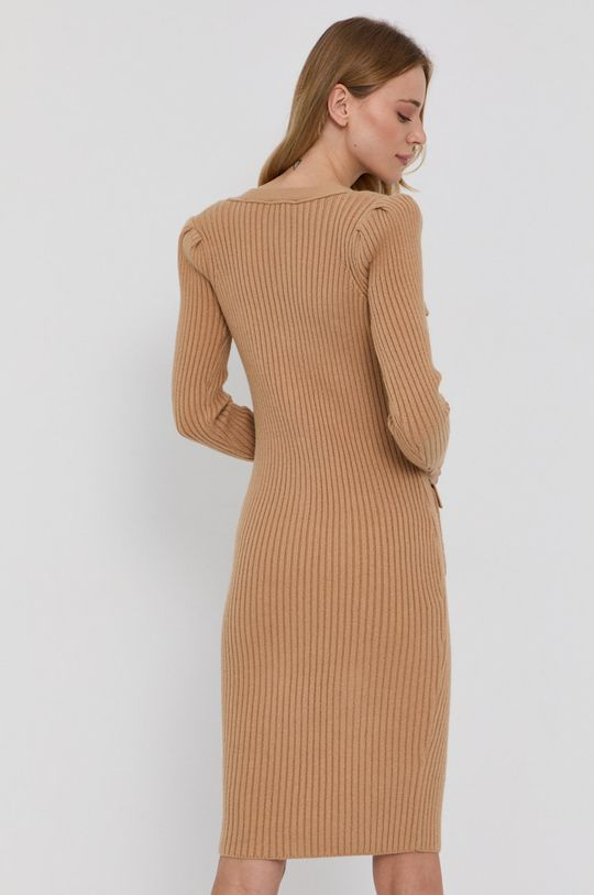 Elisabetta Franchi - Sukienka 20 % Poliamid, 30 % Poliester, 50 % Wiskoza