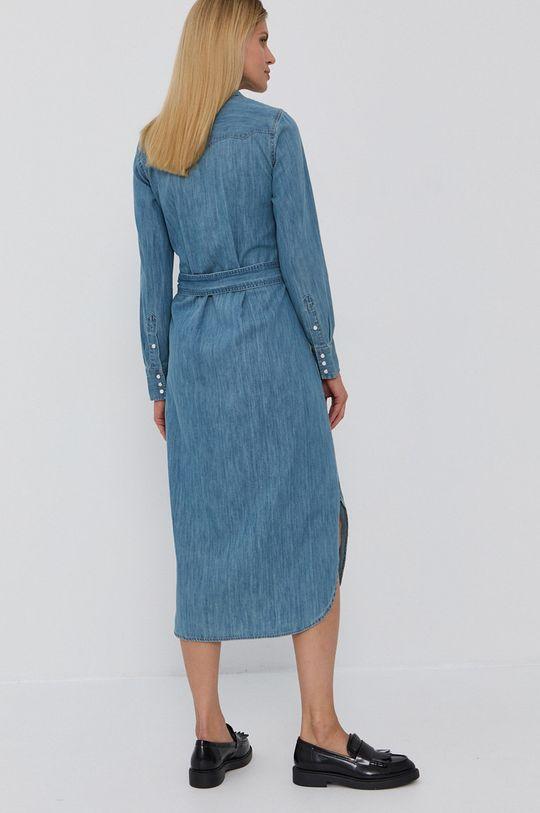 Lauren Ralph Lauren - Sukienka jeansowa 100 % Bawełna