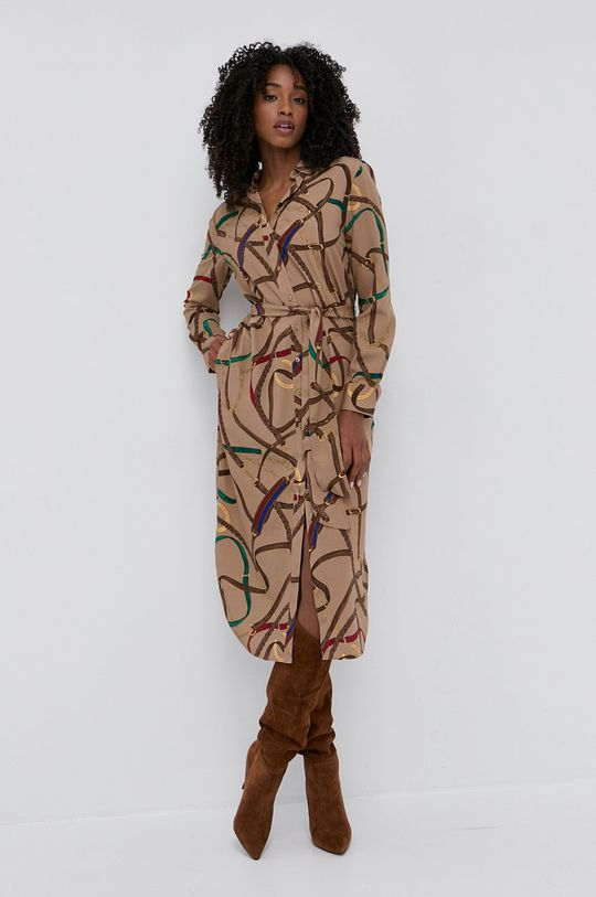 Lauren Ralph Lauren - Šaty béžová
