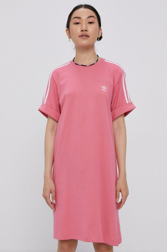 różowy adidas Originals - Sukienka Damski
