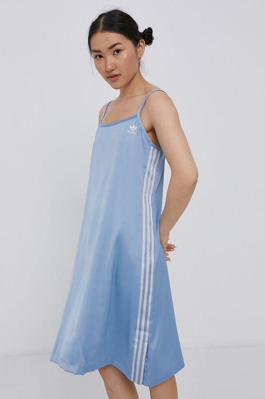 světle modrá adidas Originals - Šaty Dámský