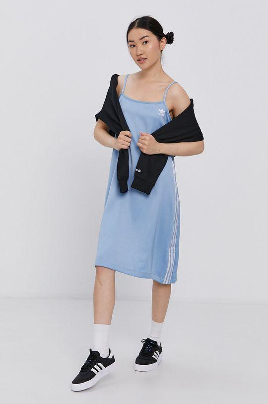 adidas Originals - Šaty světle modrá