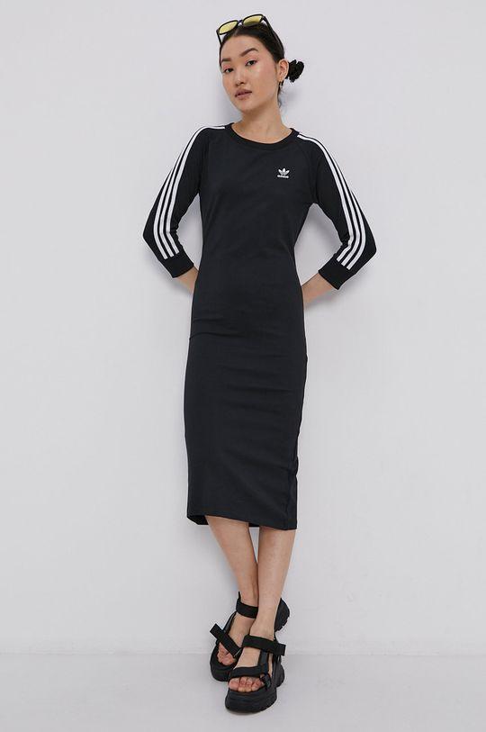czarny adidas Originals - Sukienka Damski