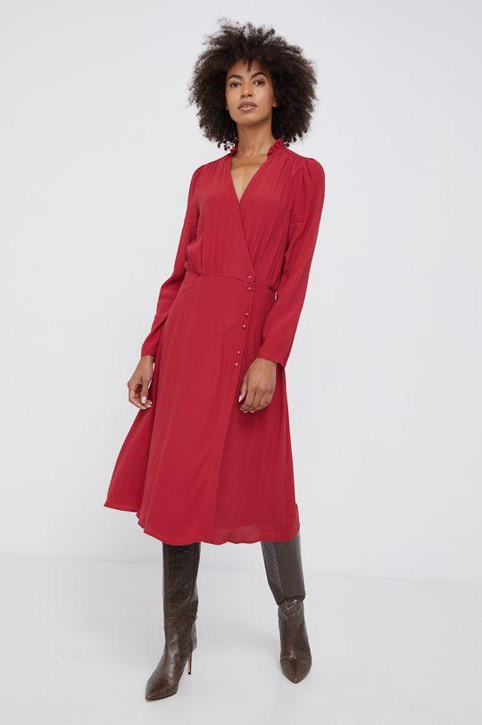 κόκκινο Pepe Jeans - Φόρεμα Catherine Γυναικεία