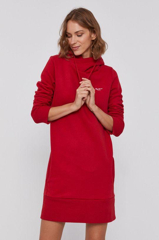 czerwony Pepe Jeans - Sukienka Gisela Damski