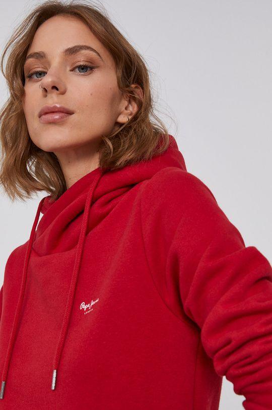 czerwony Pepe Jeans - Sukienka Gisela