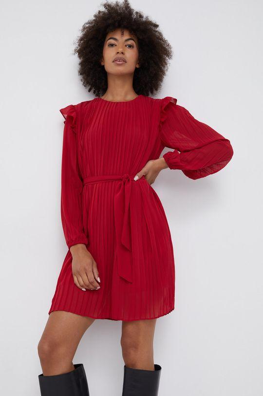 κόκκινο Pepe Jeans - Φόρεμα Coline Γυναικεία