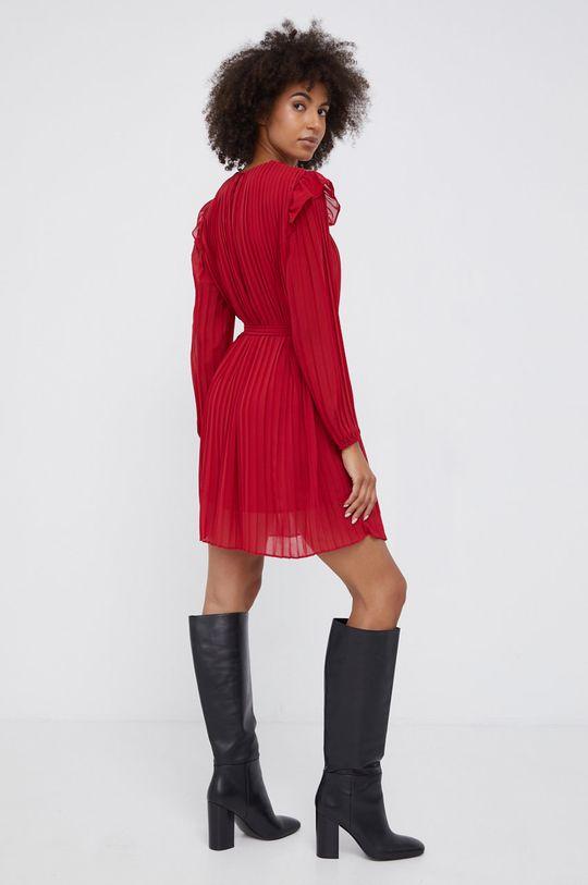 Pepe Jeans - Φόρεμα Coline κόκκινο