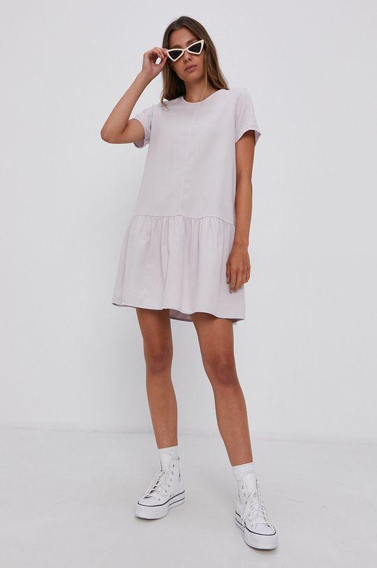 Noisy May - Sukienka bawełniana lawendowy
