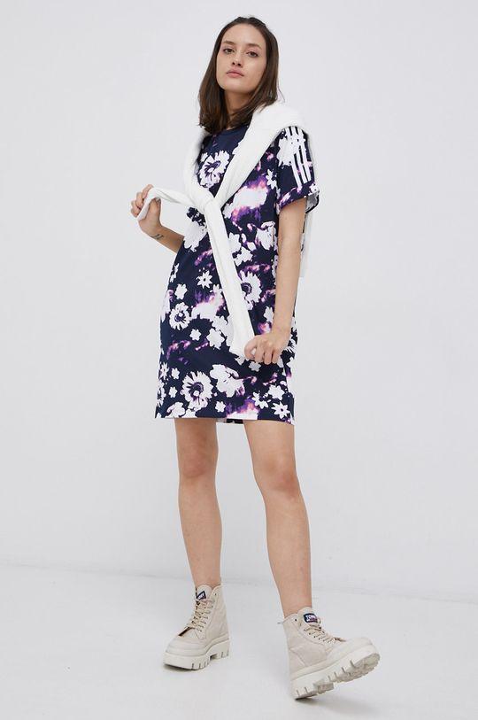 adidas Originals - Sukienka bawełniana granatowy
