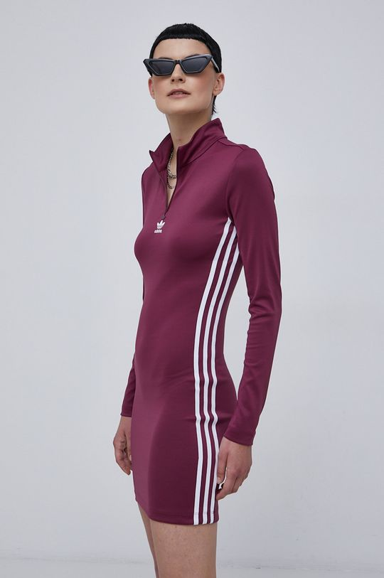 purpurowy adidas Originals - Sukienka Damski