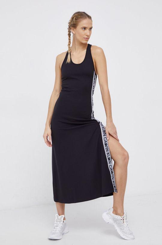 Calvin Klein Performance - Sukienka czarny