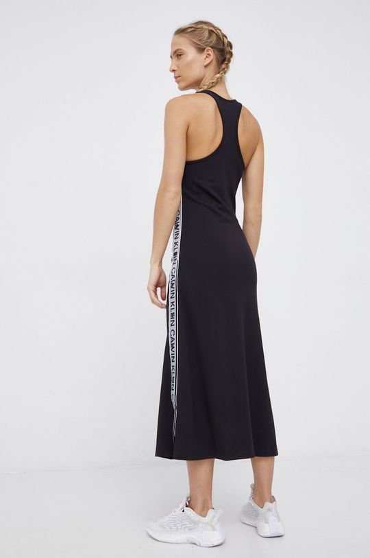 Calvin Klein Performance - Sukienka 5 % Elastan, 27 % Poliamid, 68 % Wiskoza