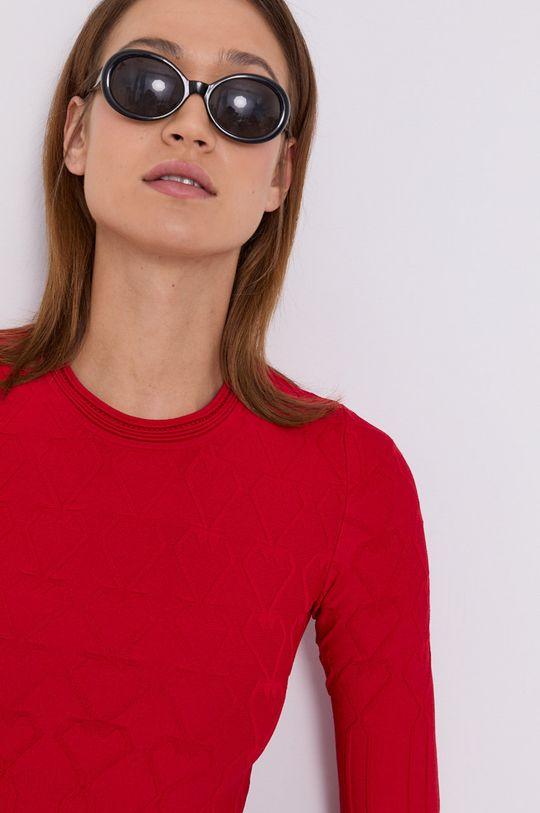 czerwony Love Moschino - Sukienka