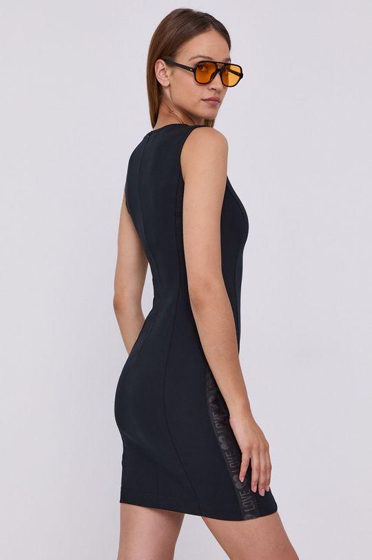 Love Moschino - Sukienka Materiał zasadniczy: 60 % Bawełna, 3 % Elastan, 37 % Wiskoza, Wykończenie: 100 % Poliester