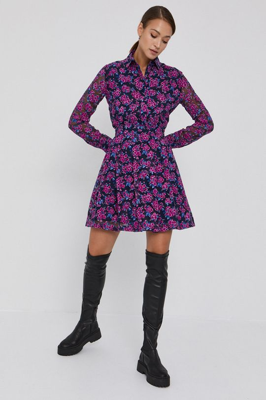 Love Moschino - Sukienka granatowy