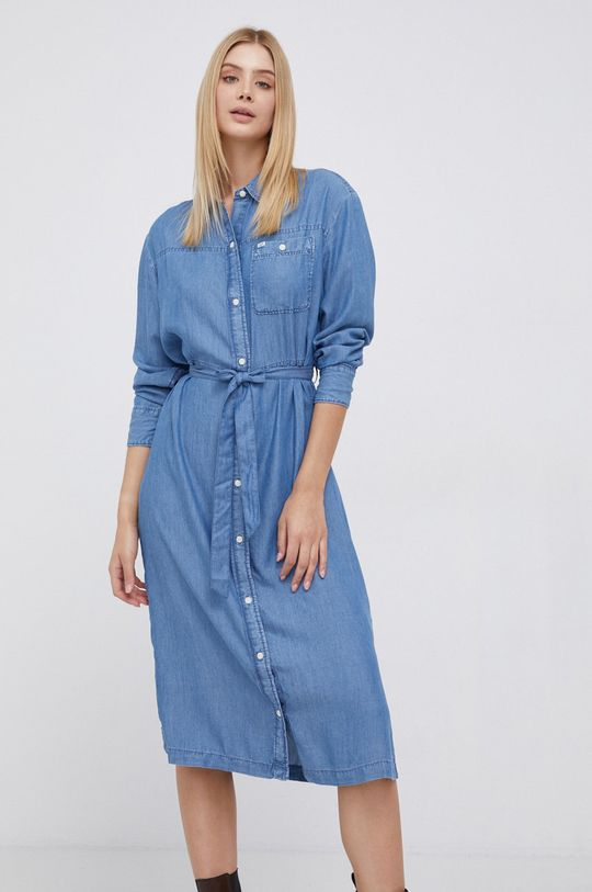 niebieski Lee - Sukienka Damski