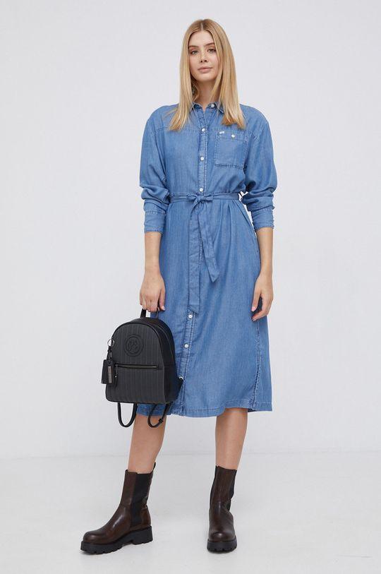 Lee - Sukienka niebieski