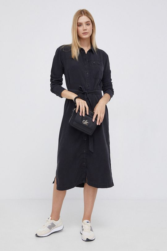 Lee - Sukienka czarny
