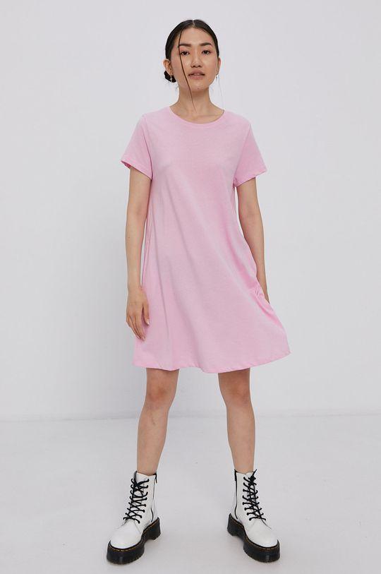 Only - Šaty růžová