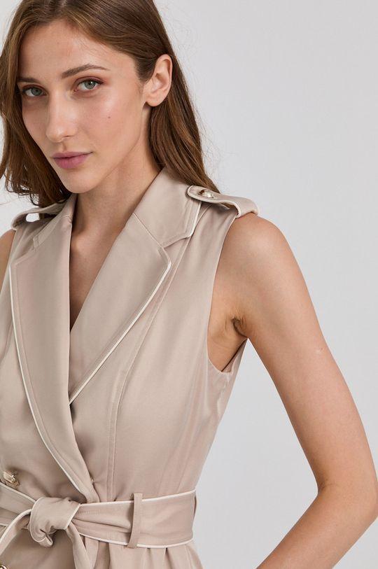 béžová Morgan - Šaty