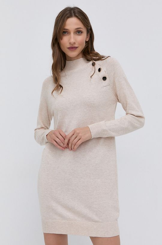 Morgan - Sukienka beżowy