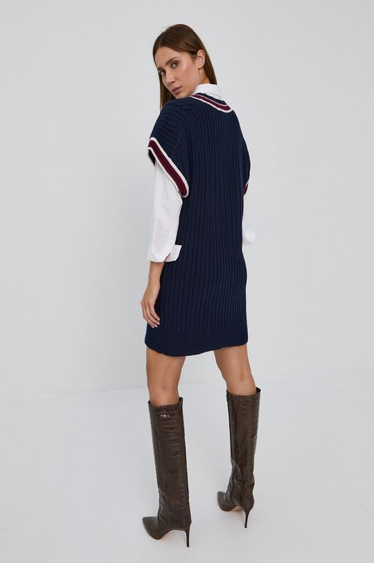 Victoria Victoria Beckham - Sukienka 29 % Bawełna, 44 % Nylon, 27 % Wełna