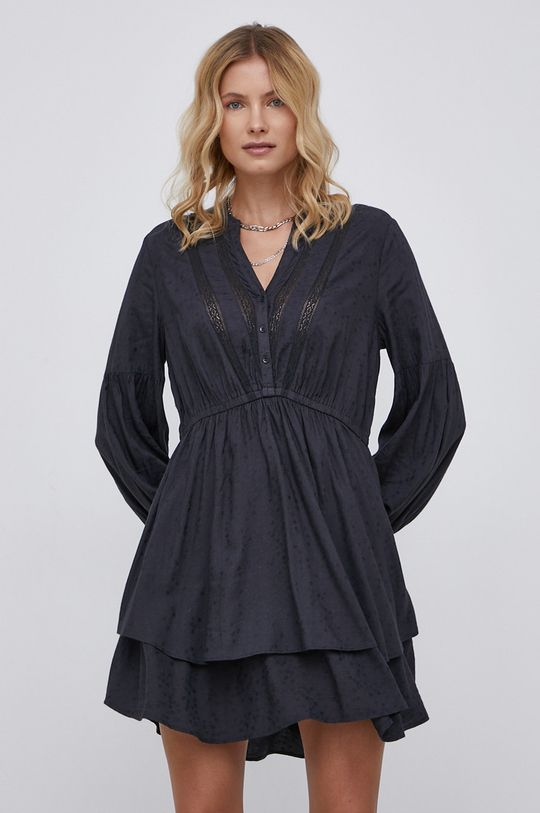 czarny Billabong - Sukienka
