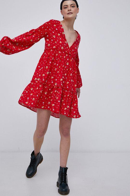 czerwony Billabong - Sukienka Damski