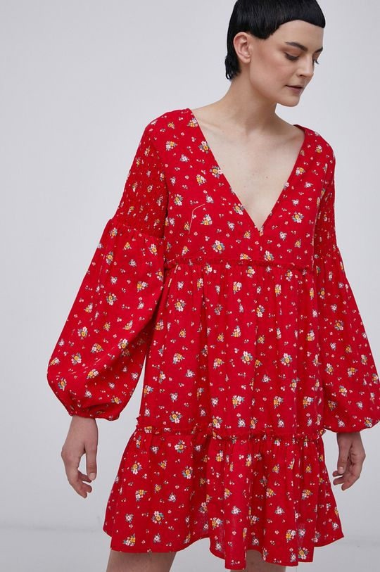 Billabong - Sukienka czerwony