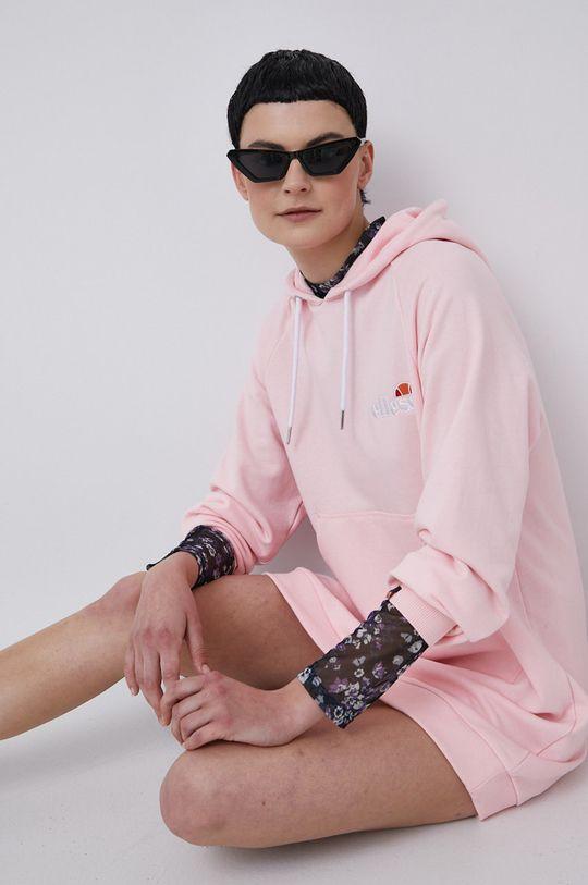 pastelowy różowy Ellesse - Sukienka Damski
