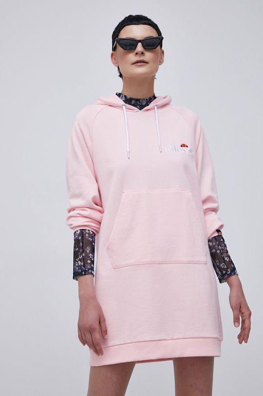 Ellesse - Sukienka pastelowy różowy