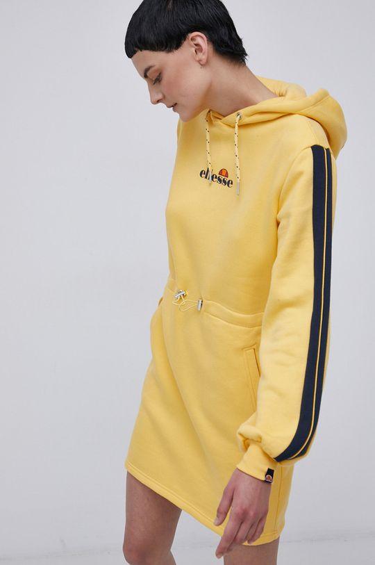 żółty Ellesse - Sukienka Damski