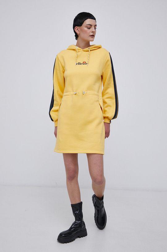 Ellesse - Sukienka żółty