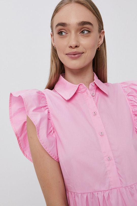 różowy Vila - Sukienka bawełniana