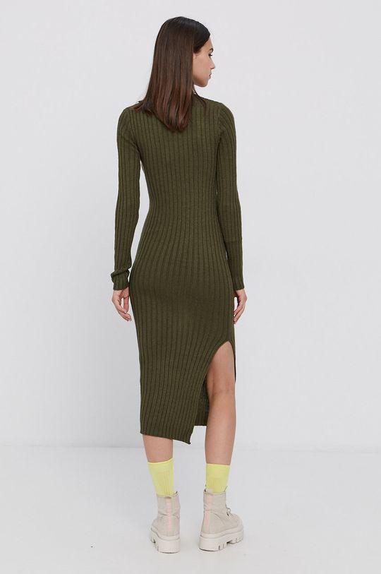 Brave Soul - Sukienka ciemny zielony