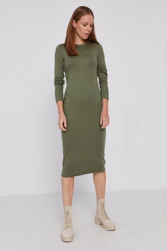 GAP - Sukienka jasny oliwkowy
