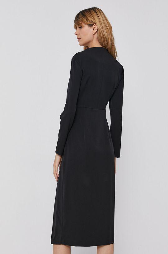 Sisley - Sukienka 4 % Elastan, 63 % Poliester, 33 % Wiskoza