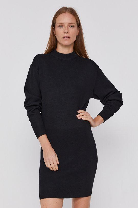 czarny Armani Exchange - Sukienka Damski